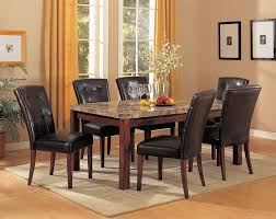 dining room sets with marble tops part 15 7pc marble top dining