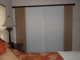 Glass Blinds Curtains For Sliding Glass Doors With Vertical Blinds U2022 Sliding