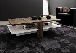Modern Walnut Coffee Table Coffee Table Modern Walnut Wood Coffee Table On Black Rug Modern