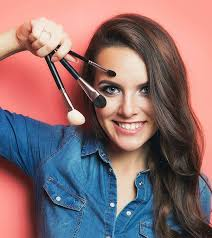 hair style angled toward face 15 different types of makeup brushes and their uses ultimate guide