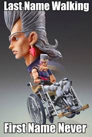 Merica Wheelchair Meme - wheelchair polnareff wheelchair drake know your meme