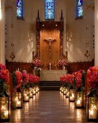 church decorations creative church wedding candles decorations weddceremony
