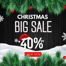 christmas sale christmas sale instagram template postermywall