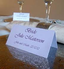 personalised table name place cards wedding birthday meeting meal