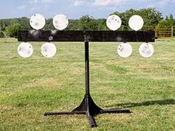 okie plate rack steel targets competition ar500