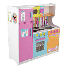 shop kidkraft deluxe big and bright kitchen at lowes com