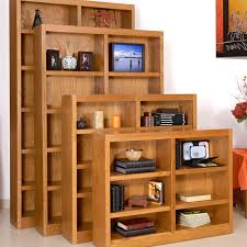 Sauder Heritage Hill Bookcase by Concepts In Wood Double Wide Wood Veneer Bookcase Hayneedle