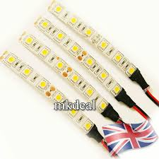 Amber Led Strip Lights by 10cm 5050 Led Strip Light 12v Car Caravan White Blue Red Green