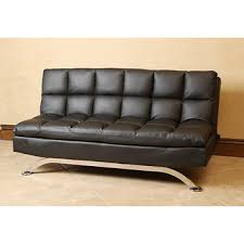 Sofa Wholesale Abbyson Living Madison Bonded Leather Euro Lounger Sofa Black