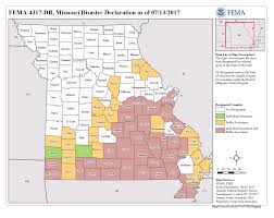 Missouri Zip Code Map Missouri Severe Storms Tornadoes Straight Line Winds And