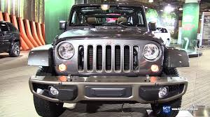 jeep gray wrangler 2016 jeep wrangler 75th anniversary edition exterior and