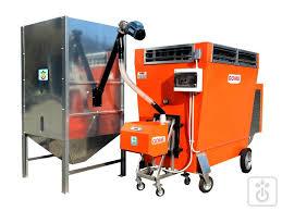 riscaldamento per capannoni generatore di calda a pellet gusci cippatino per riscaldamento