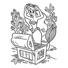 free ariel coloring pages coloring pages ideas