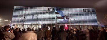fh bielefeld design site specific projection 3d projection mapping tnl