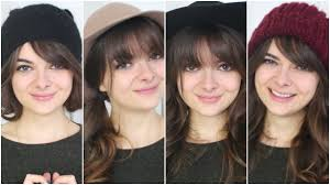 what type of hairstyles are they wearing in trinidad cute ways to wear bangs hats youtube
