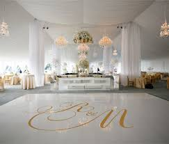 white floor rental 19 best wedding floor decals images on