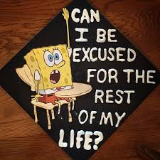 graduation caps for sale spongebob themed graduation caps 2015 edition spongebob