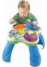 fisher price laugh learn puppy friends learning table buy fisher price laugh learn puppy and friend learning table