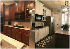painting kitchen cabinets from wood to white gypo at home our kitchen reno before and after get your
