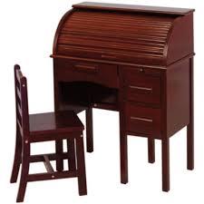 jr roll top desk u0026 chair espresso