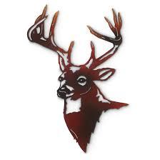decoration deer wall art home decor ideas