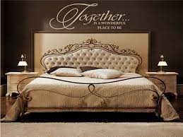 bedroom wall decal sweet and romantic bedroom wall decals