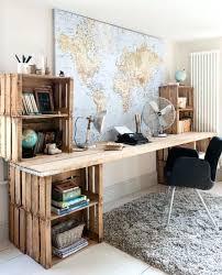 plan de bureau en bois bureau plan de travail idace diy deco rangement diy grand bureaux