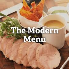 modern thanksgiving menu food food food