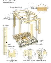 12x12 Patio Gazebo by Simple Gazebo Plans Gazebo Plans For Small Space U2013 Fixcounter