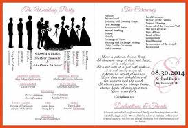 wedding program paddle fan template wedding programs templates sop format exle