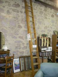 furniture cool wooden rolling library ladder on sale 14
