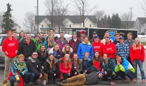 Gvsu Map Grand Valley State University Club Sports 2017 18 Coed Ski And