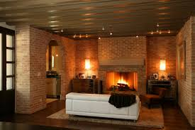 living room brick paint fireplace living room set white brick