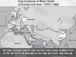 Black Death Map How The Black Death Affected Europe By Dreydan Hanshaw