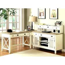 L Shaped Computer Desk White Bush L Shaped Computer Desk Shape With Hutch In Espresso Oak