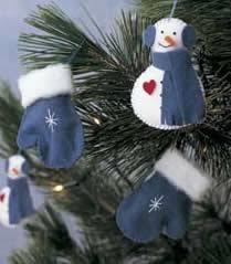 felt ornament patterns decoration crafts