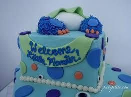 monsters inc baby shower ideas custom baby shower cakes peche baby shower
