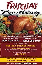 order thanksgiving frisella u0027s thanksgiving feast frisella u0027s roastery thanksgiving dinner