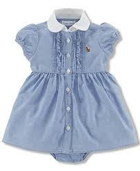 polo ralph baby oxford dress baby