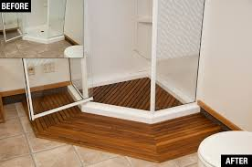 Teak Shower Bench Corner Bathroom Shower Stools Teak Teak Corner Shower Bench
