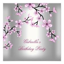 417 best asian birthday party invitations images on pinterest