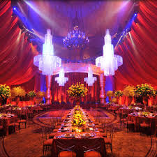 Unique Wedding Decorations Regal And Rich Wedding Reception Decor Unique Tables And Chairs