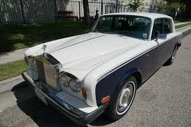 rolls royce silver shadow 1980 rolls royce silver shadow ii stock 976 for sale near