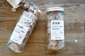 amaki body oil and bath salts a lesson in self care this a night of overindulgence led to a steam and a bath the next morning i have to admit because of this i was gifted one of the sweetest moments motherhood