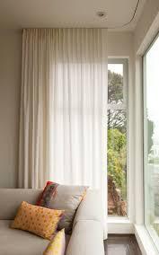 curtain rod floor to ceiling windows decoration and curtain ideas