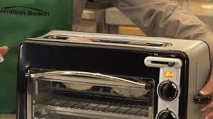 Commercial Sandwich Toaster Oven Hamilton Beach Toastation Toaster U0026 Oven Black 22708