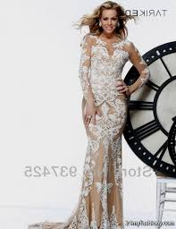 lace prom dress cream dress on sale