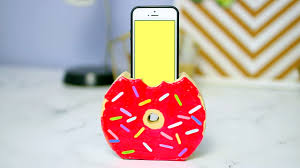 diy phone charger easy to do donut phone charger holder gwyl io
