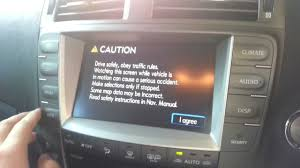lexus rx330 gps update lexus is250 non responsive frozen touch screen youtube
