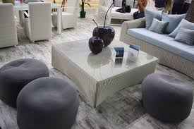 Comfy Chair With Ottoman by Spruce Up Your Backyard With Modern Outdoor Furniture